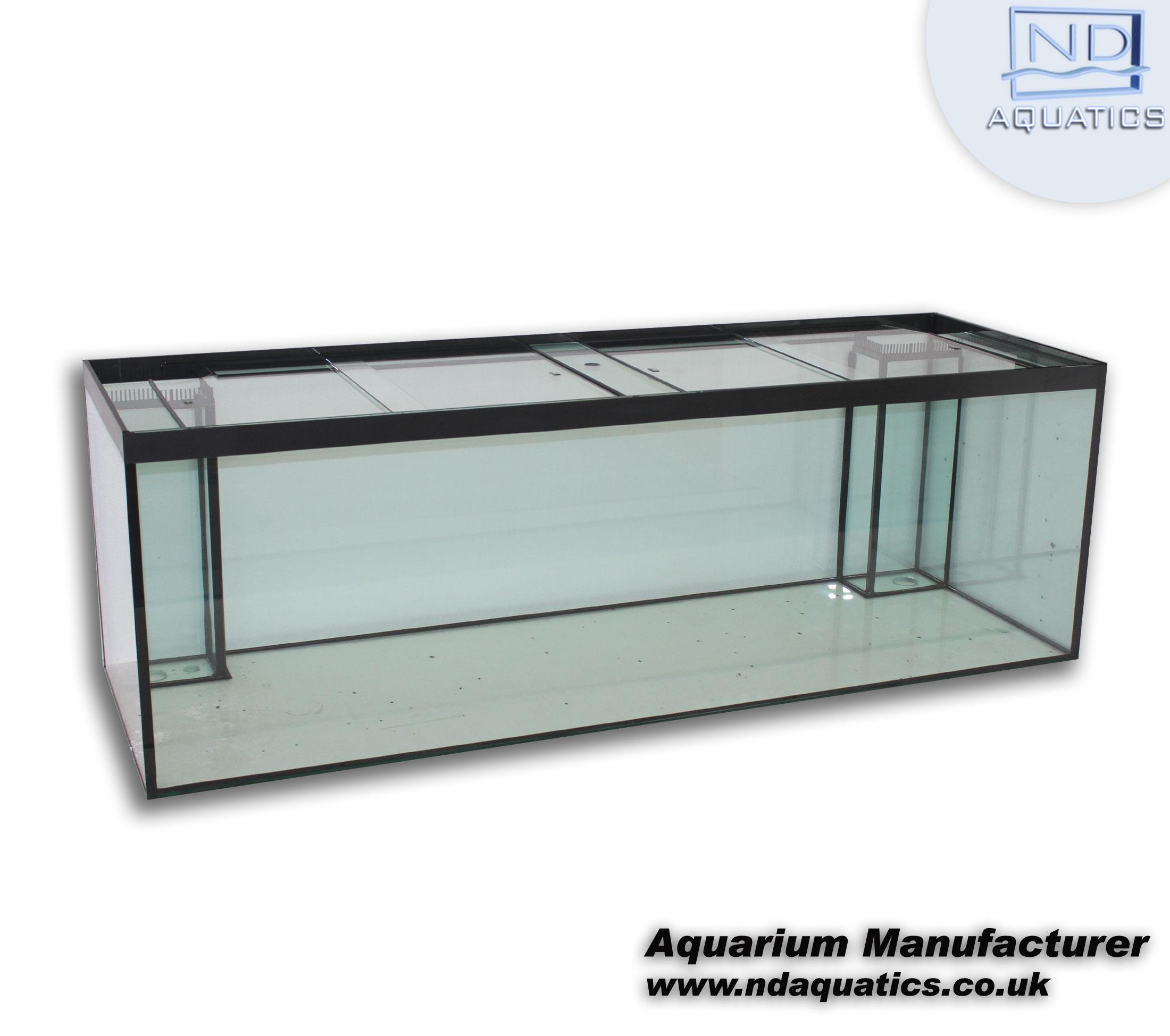 72 x 24 x 24 marine all glass tank aquarium manufacturers