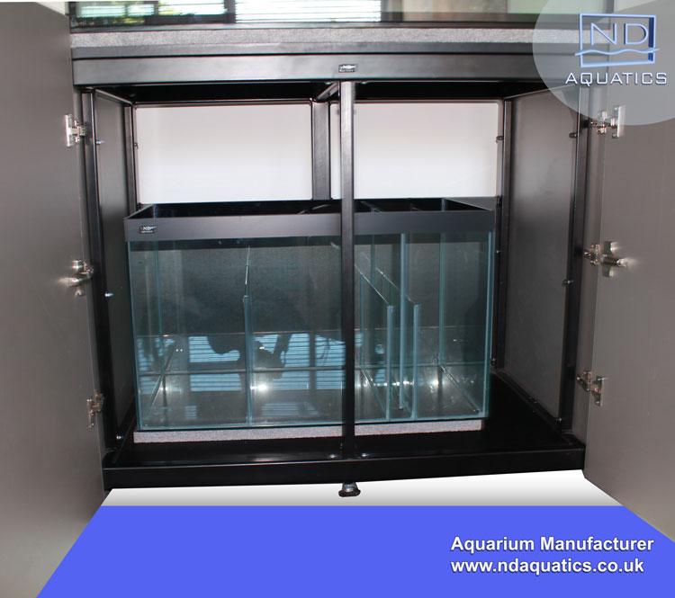Steel Frame Kitchen Cabinets: 84″ X 24″ X 24″ Marine Aquarium & Cabinet