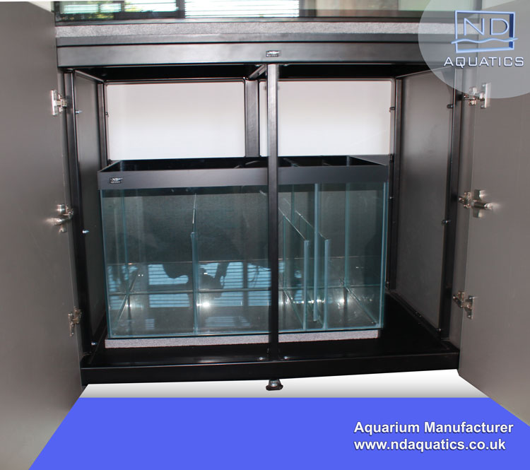 Marine Kitchen Cabinets: 84″ X 24″ X 24″ Marine Aquarium & Cabinet