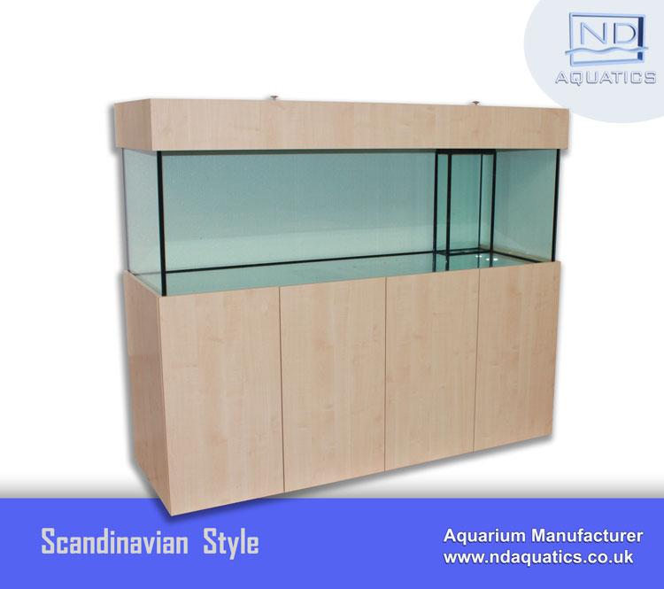 Marine Kitchen Cabinets: 96″ X 24″ X 24″ Marine Aquarium & Cabinet